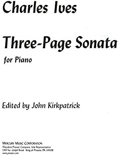 Best ives three page sonata Reviews