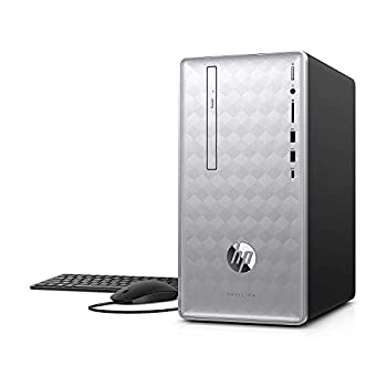 Newest HP Pavilion 590 Desktop Computer 8th Intel 6 Cores i5-8400 2.8GHz up to 4.0GHz 8GB RAM and 16 GB Intel Optane Memory 1TB HDD Bluetooth 4.2 WiFi 802.11ac Win10  Renewed