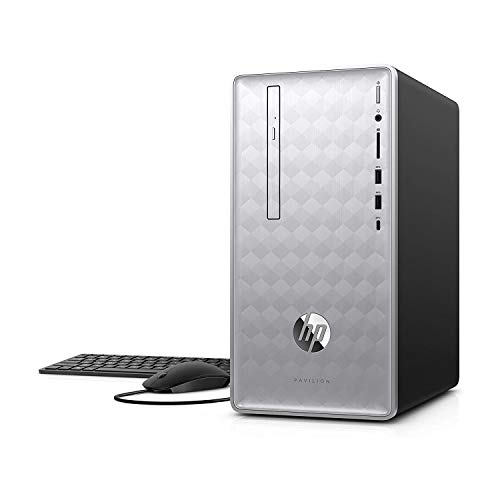 Newest HP Pavilion 590 Desktop Computer, 8th Intel 6 Cores i5-8400, 2.8GHz up to 4.0GHz, 8GB RAM and 16 GB...