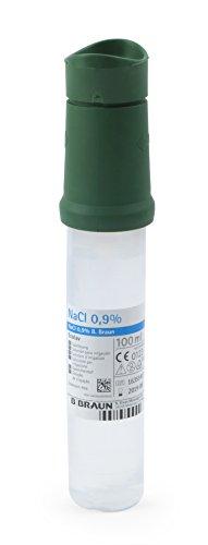 MedX5 (Upgrade 2019) 100 ml 0,9% NaCl Notfall Augendusche, Augenspülung mit steriler Kochsalzlösung (0.9%), Augenspülmittel, Augenspüllösung, Augenspüler, Augenspülflasche