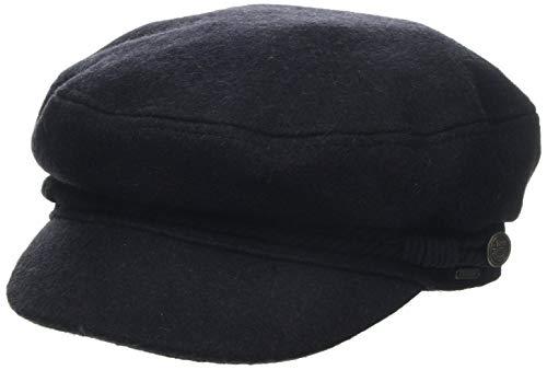 Barts Damen Skipper Cap Baskenmütze, Blau (Navy 0003), One Size (Herstellergröße: Uni)