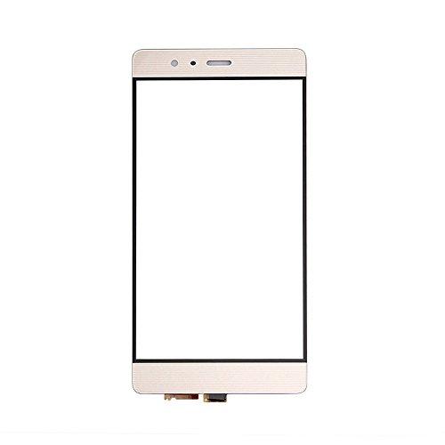 UU FIX Pantalla Táctil LCD Repuesto Para Huawei Ascend P9(Oro) Touchscreen Digitalizador Con Herramientas Gratuitas de Reparación(No LCD).