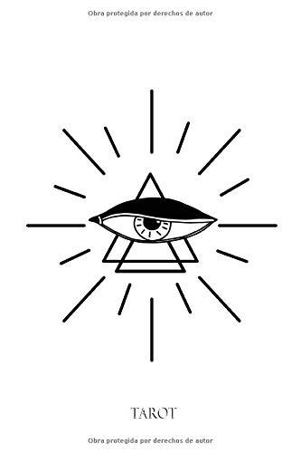 TAROT: Libro de Tarot   Diario del Tarot:   Libro de dibujo de cartas de Tarot y Oracle   150 páginas precargadas para completar   Dimensión 6x9 pulgadas   Idea de regalo