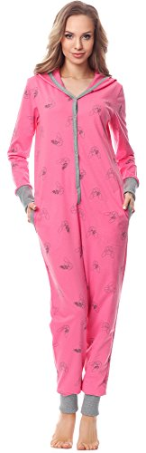 Merry Style Pijama 1 Pieza con Capucha Ropa de Cama...