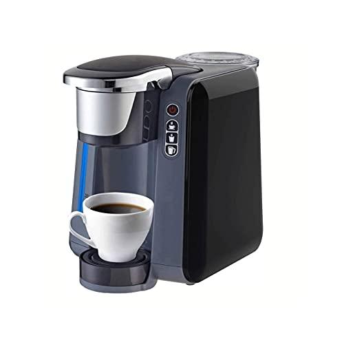 Ekspres do kawy, Capsule Coffee Maszyna, Single Serve Coffee Maker Brewer, Home Office Automatyczne wielofunkcyjne Duża kawa W proszku mleka Maszyna do browarni (Color : Black)