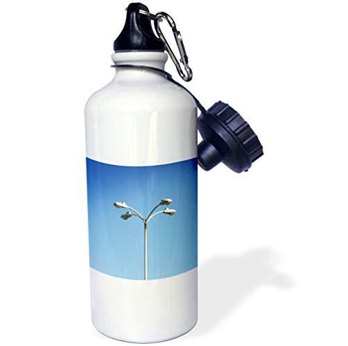 3dRose Henrik Lehnerer Designs - Object - Parking lot Light at The Oxnard Airport - 21 oz Sports Water Bottle (wb_194523_1)