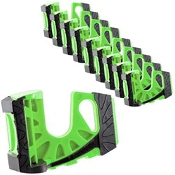 10 Pack Wedge It Ultimate Door Stop Green