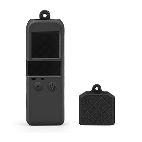 SHOOT OSMO POCKET用シリコンケース 本体+レンズ保護カバー