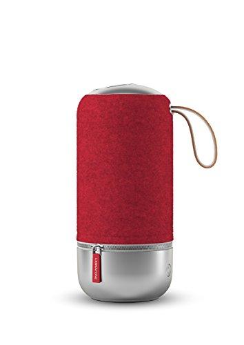 Libratone Zipp Mini - Edición Copenhagen Altavoz Wireless SoundSpaces (Multiroom, SoundSpaces, AirPlay, Bluetooth, DLNA, WiFi), Color Raspberry Red