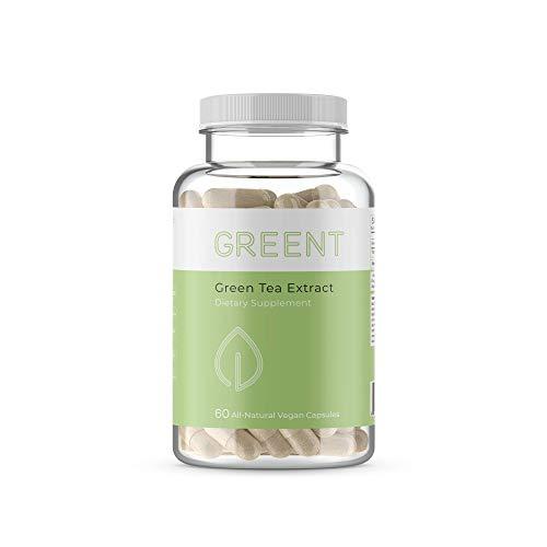 Green Tea Extract 630mg from Thyro8 - 60 Capsules - EGCG Natural Energy & Immune Support, Antioxidant for Optimal Health - Thyro8 Pair