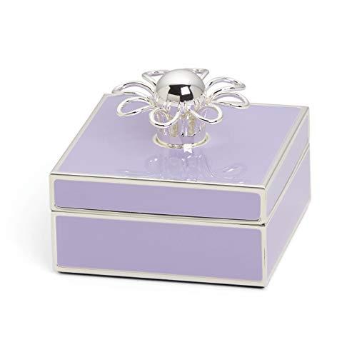 Kate Spade New York Keaton Street Lilac Jewelry Box, vergoldet, violett, 0.65 LB