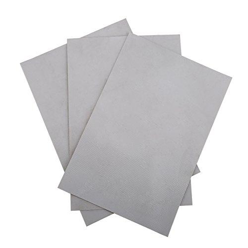 Hecho de PVC de buena calidad, resistente, impermeable, seguro y duradero. Fácil de usar, puedes cortarlo en tamaño más pequeño para satisfacer tus necesidades. Con 3 colores para que elijas satisfacer tus necesidades. 6 parches un paquete, suficient...