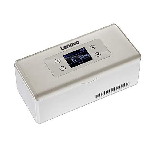 LXYZ Refrigerador de medicamentos y Enfriador de insulina con Sistema de Control de Temperatura avanzado - Caja de enfriamiento de medicamentos portátil para automóvil, Viajes, hogar