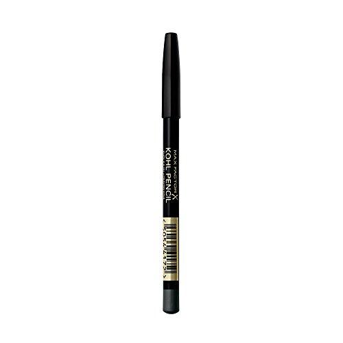 Max Factor Kohl Kajal Charcoal Grey 50 – Grauer Kajal perfekt für Smokey Eyes – Lidstrich auftragen leicht gemacht – 1 x 4 ml