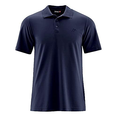 Maier Sports Ulrich Polo Homme, Night Sky Modèle XXL 2020 T-Shirt Manches Courtes