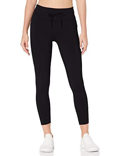 Skechers Gowalk Jogging Pantalones de Yoga, Negro Grueso, S para Mujer
