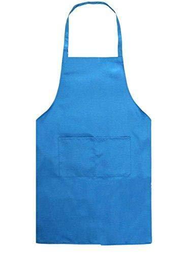 Depory Kinder Schürzen Kochschürze Kinder Backschürze Bastelschürze Gartenschürze Malschürze Hellblau