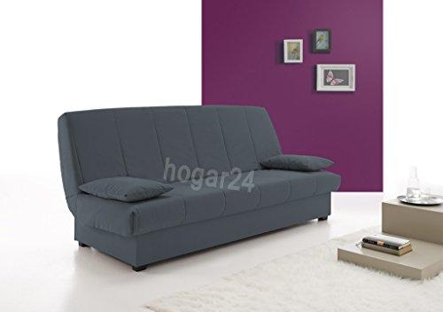 Sofa Cama Clic CLAC con ARCÓN DE ALMACENAJE Azul