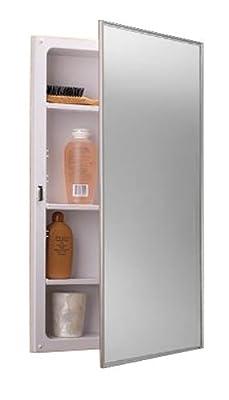 Jensen B772193 Basic Styleline Recessed Molded Medicine Cabinets