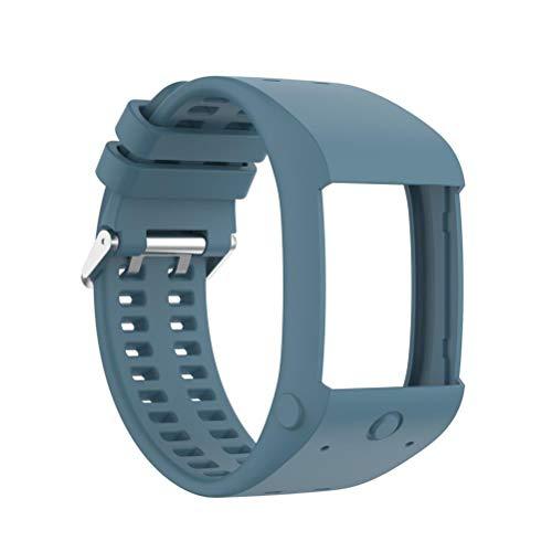 Eastleader Correas de silicona para reloj de liberación rápida, correas de repuesto suaves y cómodas de liberación rápida, compatibles con POLAR M600, correas de repuesto para relojes inteligentes