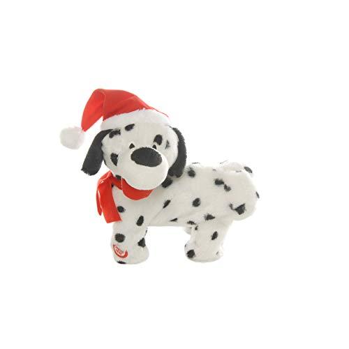 FANCYTHAT and SCIFI PLANET Twerking Dalmatian Dog in Santa Hat!