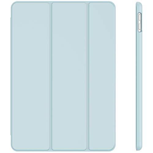 JETech Funda Compatible con iPad 8/7 (10,2 Pulgadas, 2020/2019 Modelo, 8.ª/ 7.ª Generación), Carcasa con Auto-Sueño/Estela, Azul Claro