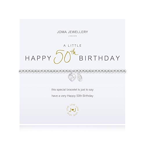 Joma Jewellery a Little 50TH Birthday Bracelet