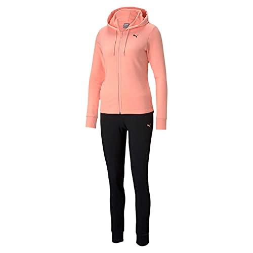 PUMA Damen, Classic Hd. Sweat Suit TR Trainingsanzug, Apricot Blush, S