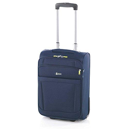 Maleta de Viaje de 2 Ruedas, Bemus de John Travel (Azul Marino,...