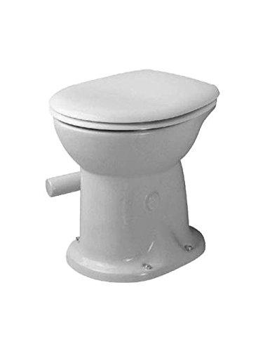 Duravit Stand WC (ohne Deckel) Duraplus 47cm Trockenklosett, weiß 180010000, 180010000