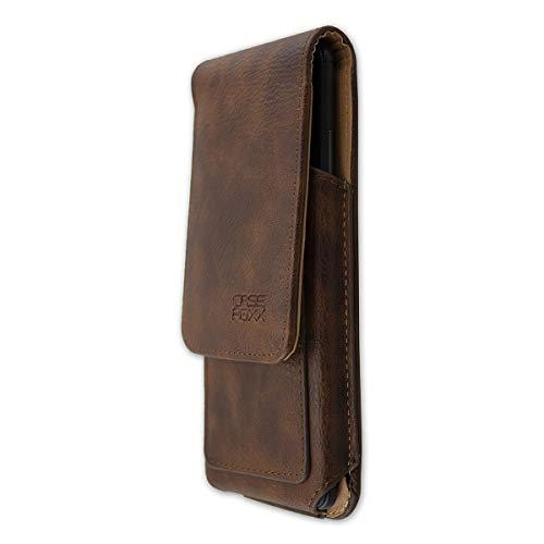 caseroxx Handy Tasche Outdoor Tasche für Yota Devices YotaPhone 3, mit drehbarem Gürtelclip in braun
