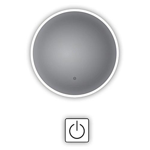 HOKO® Rer LED Bad Spiegel Freiburg 80cm mit ANTIBESCHLAG SPIEGELHEIZUNG außen LED Bild 5*