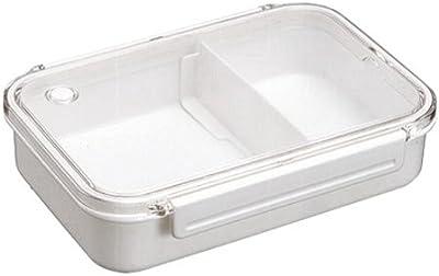 アスベル お弁当箱 ビーブ 1段 仕切り ホワイト 810ml OA-830