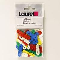 【Laurel】バックファスナー33mmアソート(0547-95)