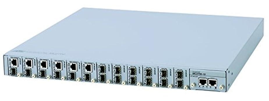 好きである促す老朽化したアライドテレシス CentreCOM MC2700-80-Z1 メディアコンバーター?シャーシ 10028Z1