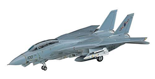 ハセガワ 1/72 アメリカ海軍 F-14A トムキャット ロービジ プラモデル E2