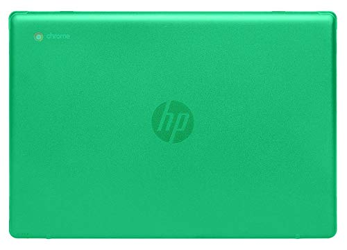 mCover Hard Shell Case for 2020 14' HP Chromebook 14a Series (Like 14a-na0023cl Sold at Costco, NOT Compatible with Older HP C14 G1 / G2 / G3 / G4/ G5 / G6 Series) laptops (Green)