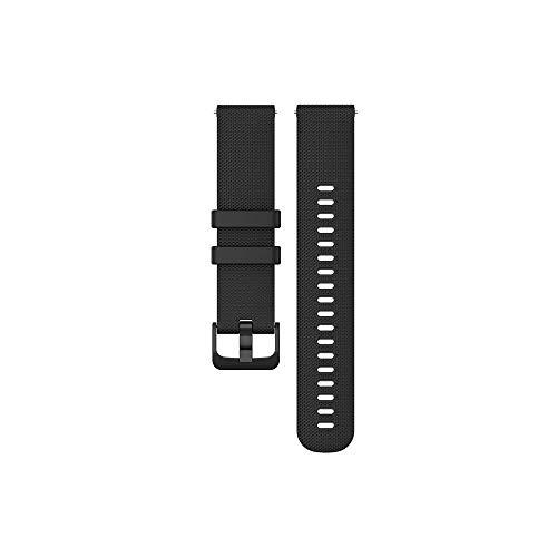 PINHEN 18MM 20MM 22MM時計 バンド 腕時計用ベルト シリコーンストラップ ラバーベルト運動 交換バンド 高級シリコン ベルト防水 (20MM Black)