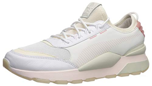 PUMA RS-0 Sneaker, White-Marshmallow, 9.5 M US