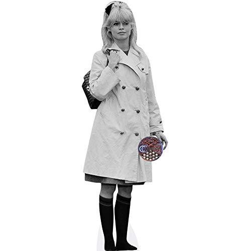 Celebrity Cutouts Brigitte Bardot (Bw) Pappaufsteller lebensgross