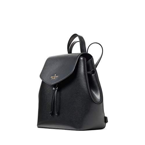 kate spade backpack for women Lizzie medium flap backpack (Black)