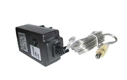 Trafo, Transformator, mit Timer, für LED Schwibbogen/Leuchter Hohlstecker 6,3/2,1 mm