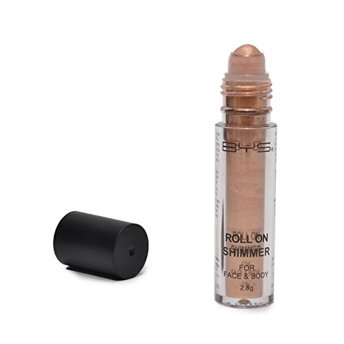 BYS Face and Body Roll On Glitter Shimmer Bronze