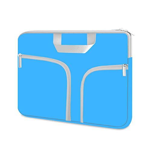 HESTECH Chromebook Case, 11.6-12.3 inch Neoprene Laptop Sleeve Case Bag Handle for Acer r11 /Spin 311/HP Stream/Samsung/MacBook Air 11/ Microsoft Surface Pro X/7/6/5/4/3/2/1 /Go-12.4,Blue