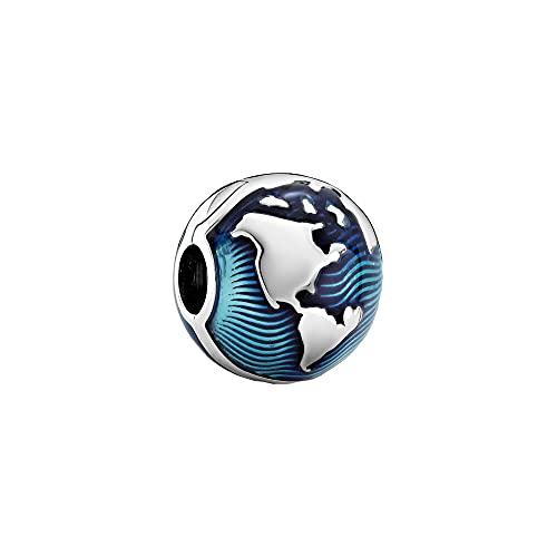 Pandora Globe Clip Charm