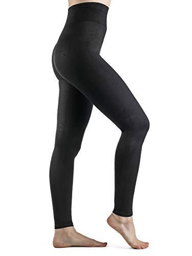 SIGVARIS Soft Silhouette Leggings Opaque Footless Compression Tights 15-20 mmHg