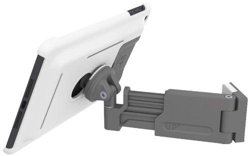 3in1 Set - Wandhalterung & Standfuß für iPad mini - mit Teleskoparm - mit Schutzhülle, Farbe: weiß - XFLAT-UP420