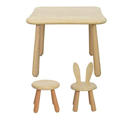 I Bambini di Studio Scrivania E Sedia, Tavolo Bambini, Bambino Desk Set Affare for Arte E Artigianato, Snack Time, Compito A Casa, Homeschooling (Color : C)