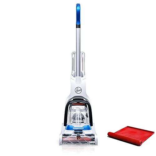 Hoover PowerDash Pet Compact Carpet Cleaner, Shampooer Machine, Lightweight, with Storage Mat, FH50750, Blue