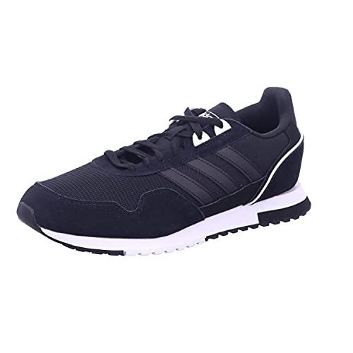 Adidas 8K 2020, Zapatillas para Correr Hombre, Core Black/FTWR White/Core Black, 44 EU